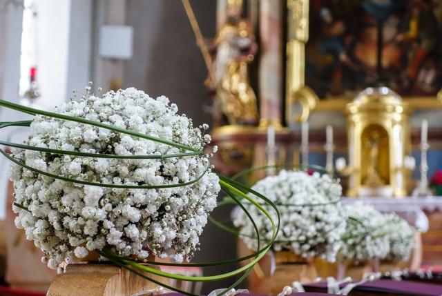 Kirchenfloristik Hochzeitsfloristik